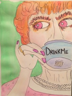 """Ladies Who Tea: Drink Me Orange"" by Nan Lehnert"