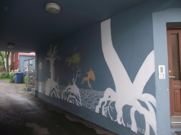 Wall art / Njálsgata / 2012
