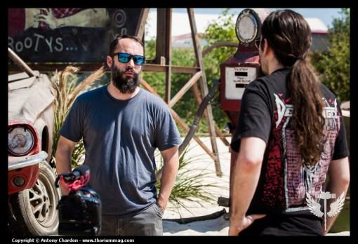 En entrevue: Clutch @ Hellfest (France)