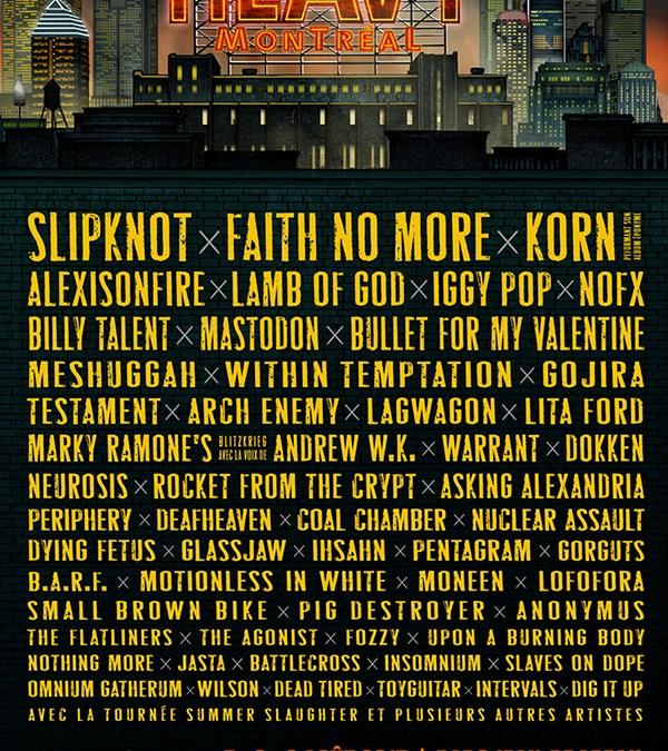 Annonce: Heavy Montréal 2015!