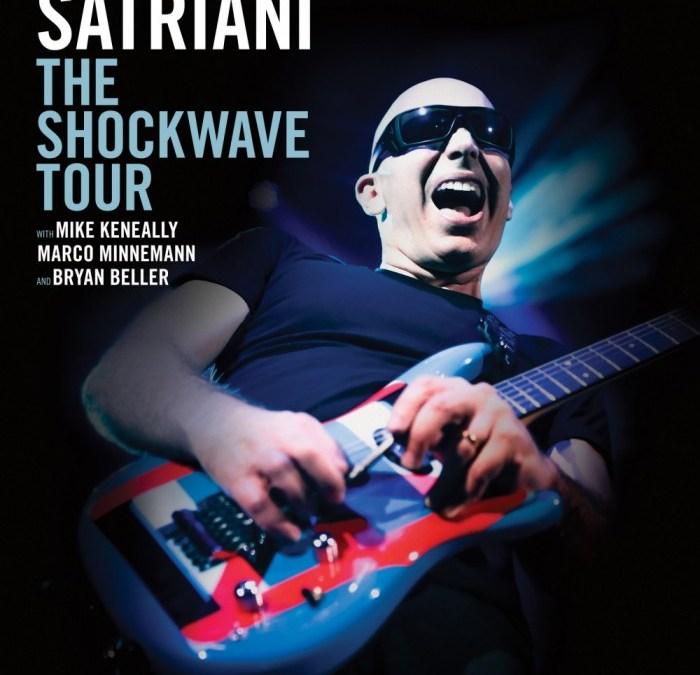 Incoming: Joe Satriani @ Casino Barrière (Toulouse)