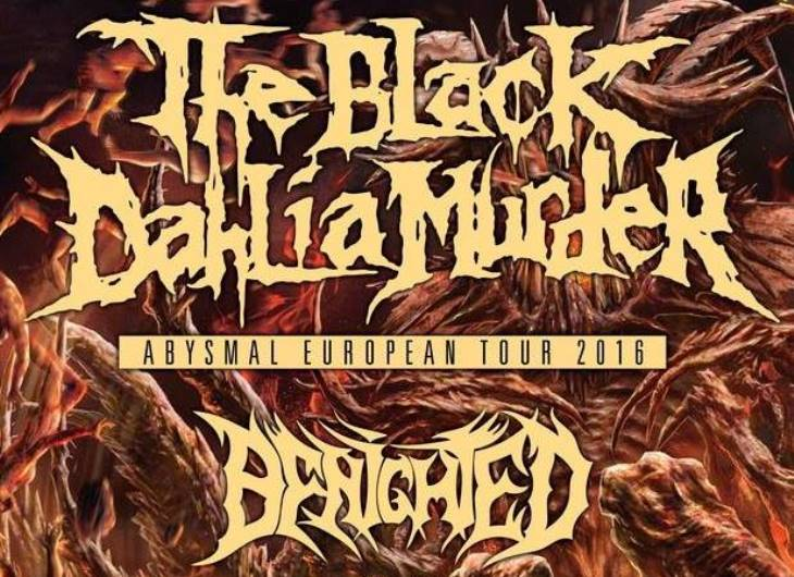 Incoming: The Black Dahlia Murder @ Le Connexion Live (Toulouse)