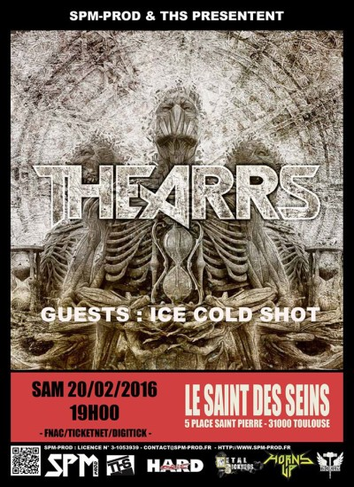 Incoming: The Arrs @ Le Saint des Seins (Toulouse)