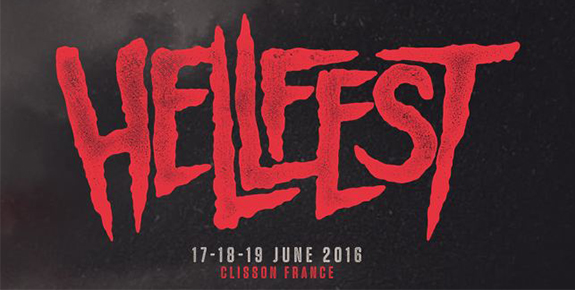 Incoming : Hellfest Open Air 2016 @ Clisson (France)