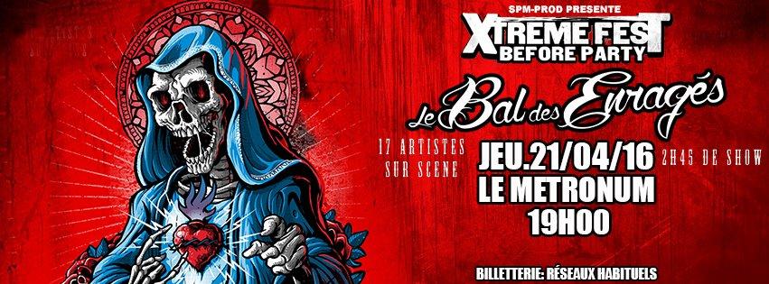 Incoming: Le Bal des Enragés @ Le Metronum (Toulouse)