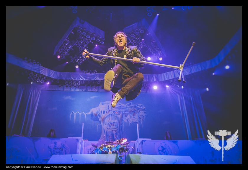 Iron Maiden @ Montréal (Centre Bell)