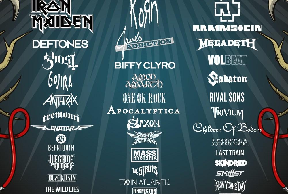 Incoming : Download Festival @ Paris (France)