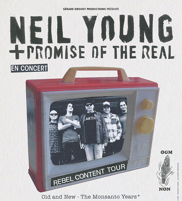 Incoming : Neil Young @ Le Zenith (Toulouse)