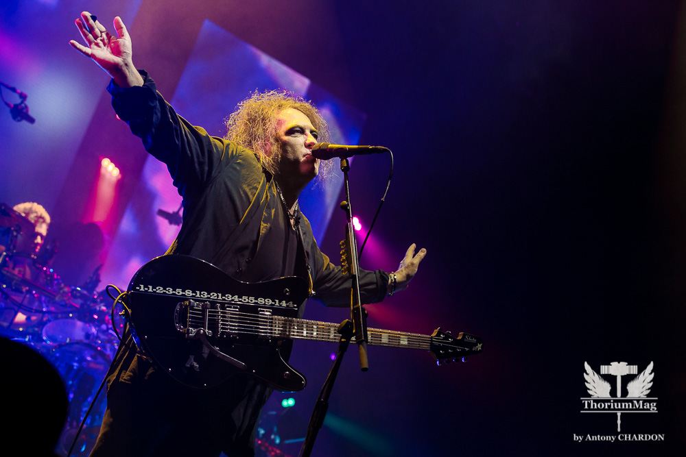 The Cure + The Twilight Sad (Photos) @ Arena (Montpellier)