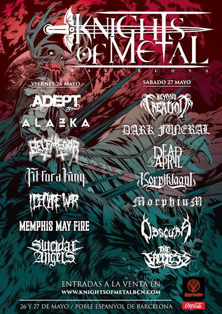 Knights of Metal Festival Le line-up complet dévoilé