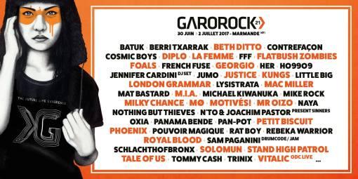 Garorock 2017 : dernière ligne droite !