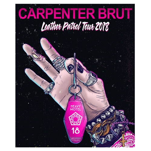 Concours Carpenter Brut + Youth Code @ Le Bikini (Toulouse)