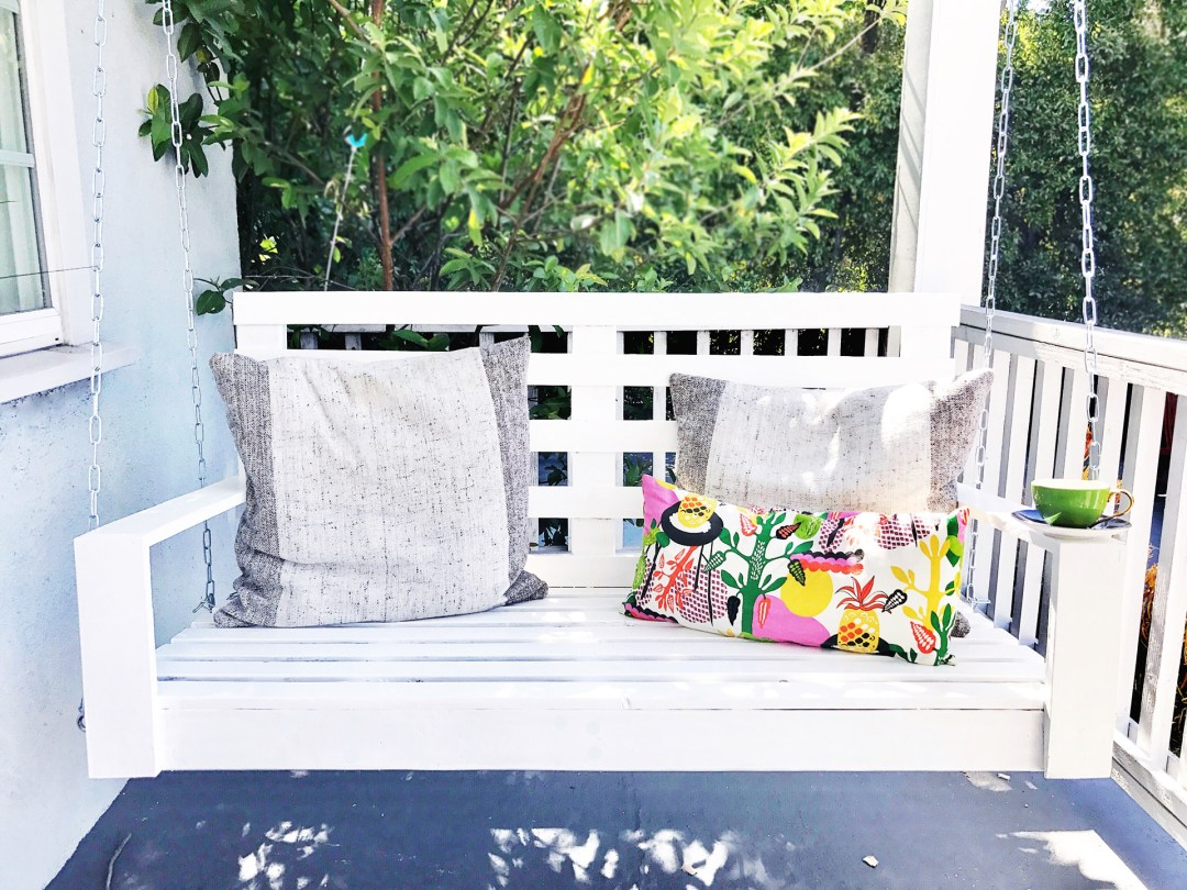 How To Build A Porch Swing How To Build A Porch Swing Thorn And Thimble