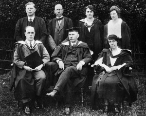 1922 Mr Ross and Staff