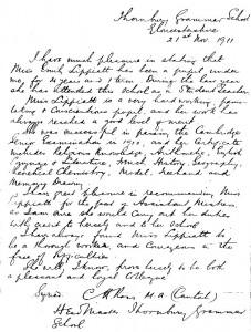 Lippiatt reference 1911