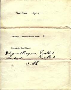 Lippiatt report Summer 1909a