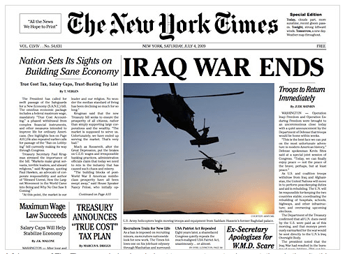 NYTimes spoof