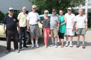 2018-June-20-Elginwood-Long-Term-Care-Centre-Thornhill-Cruisers-Car-Club-Members