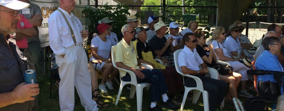 RICHMOND HILL LAWN BOWLING 100th ANNIVERSARY <br /> July 8 2018