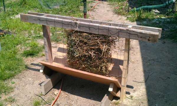 Homemade Hay Feeders - Year of Clean Water