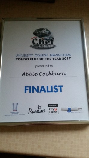 Young Chef of the Year Competition