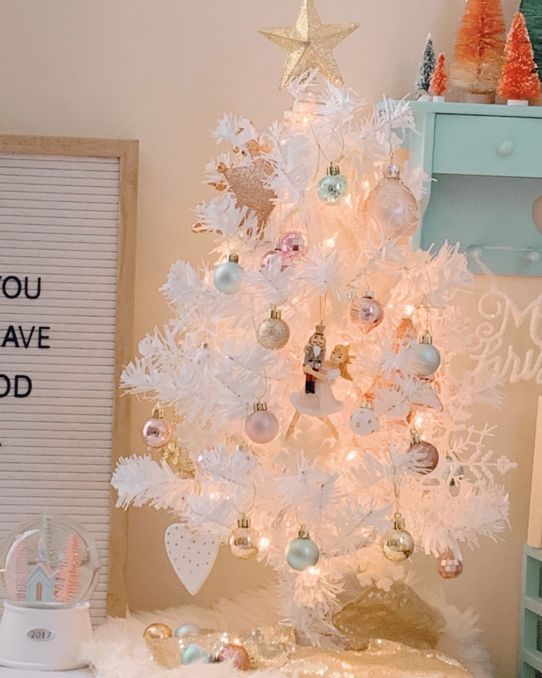 If you are wanting to add some Christmas decorations to a small space or add some holiday cheer to an unconventional area like a bedroom, I've got you covered. See how I decorated my space at thoroughlycontemporary.com.