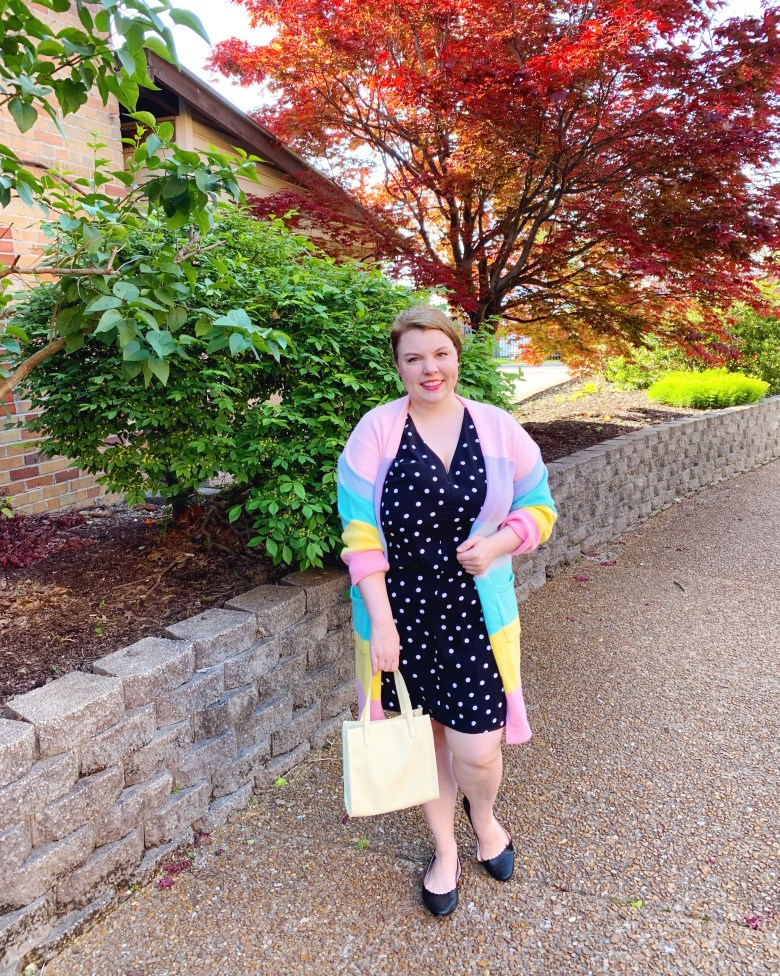Wearing Bold Color and pattern mixing
