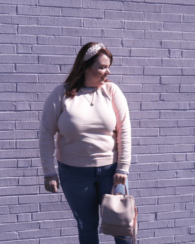 Pink Pastel Outfit for fall and winter