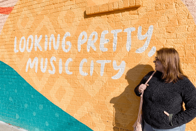Looking Pretty Music City Mural Nashville, Tennessee