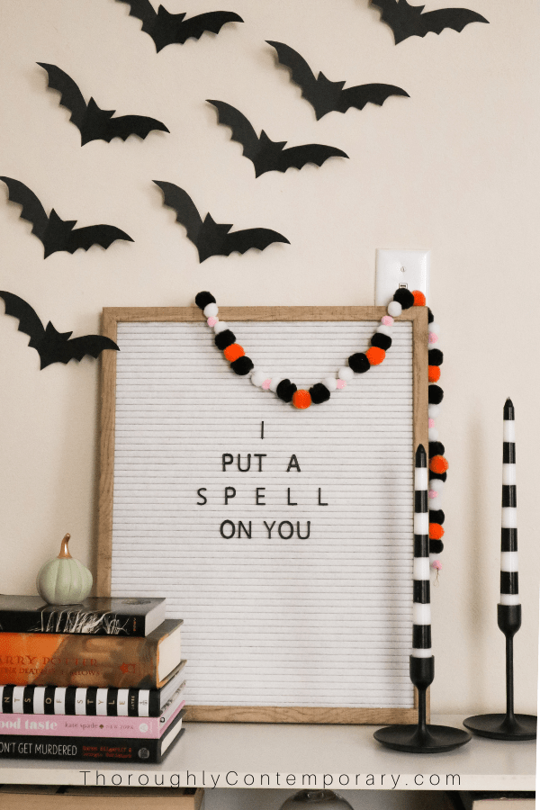 Small Space Halloween Decorating