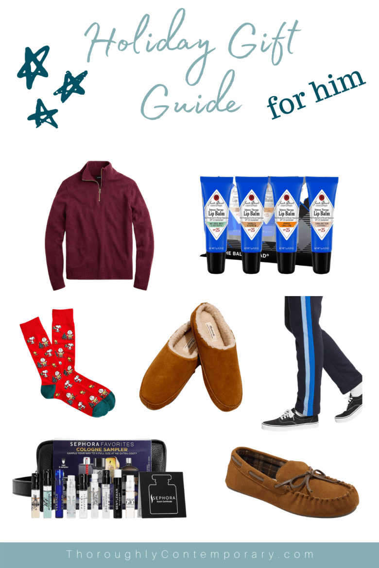 a cozy gift guide for the men in your life