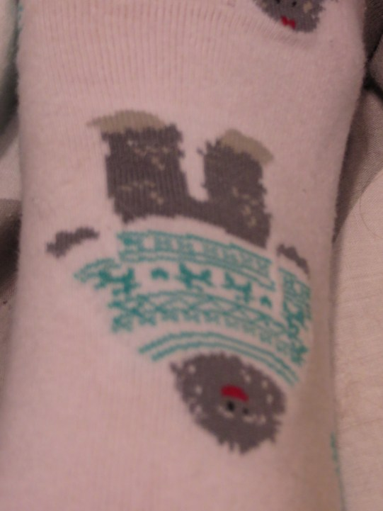 Yeti Socks - Because who doesn't love abominable snow men.