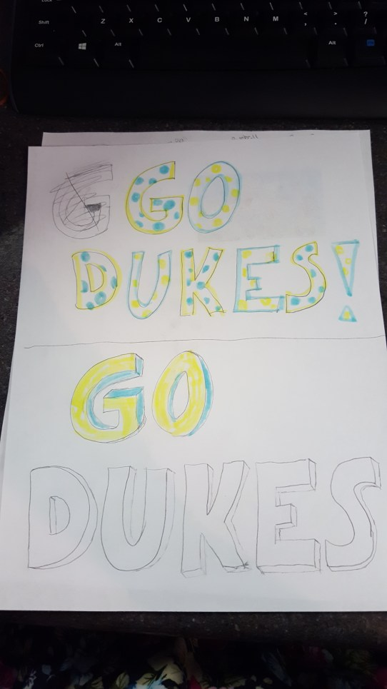 Duke Pride Outlines