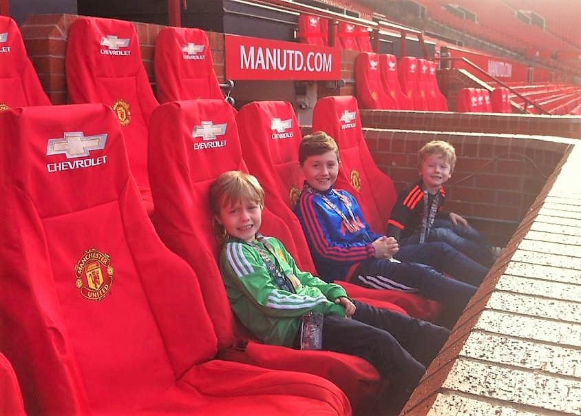 Boys on Tour of OT