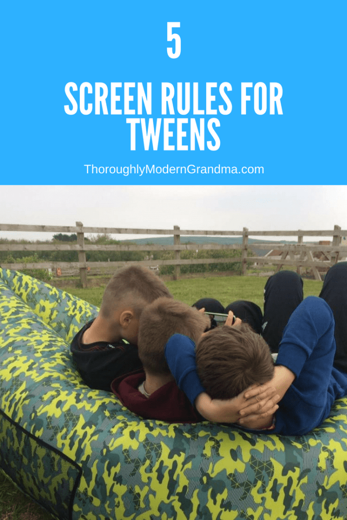 Tweens and screens