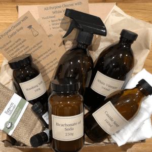 Natural Homemade Cleaning Starter Kit