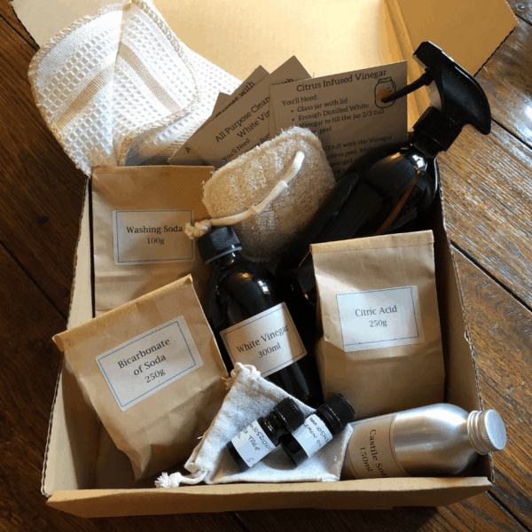 Zero Waste Cleaning Kit
