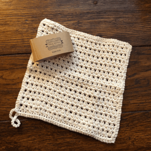 organic eco cotton face cloth