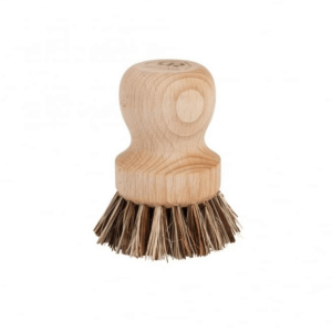 Plastic free pot brush