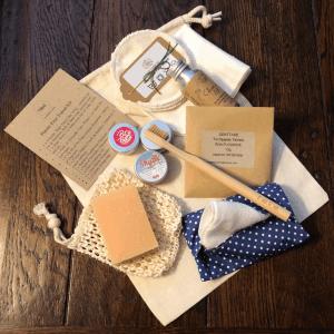Plastic Free Toiletries Travel Kit