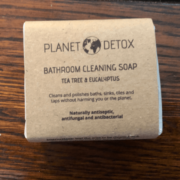 Planet Detox Natural Bathroom Cleaning Bar