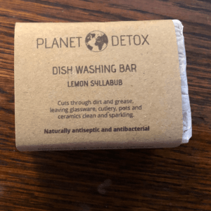 Planet Detox Natural Dish Washing Bar