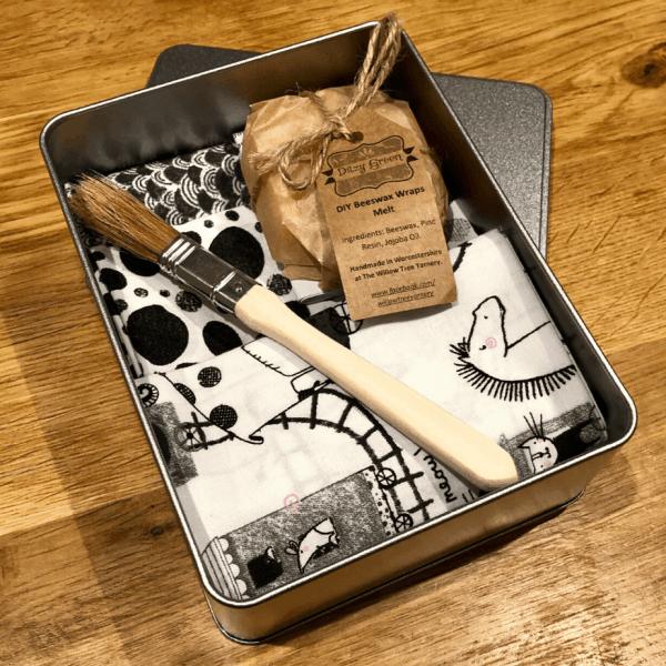 DIY Reusable Wax Food Wrap Kits
