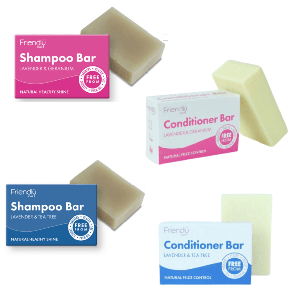 Friendly Soaps Shampoo and Conditioner Bars