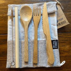 Handmade Bamboo Cutlery Set
