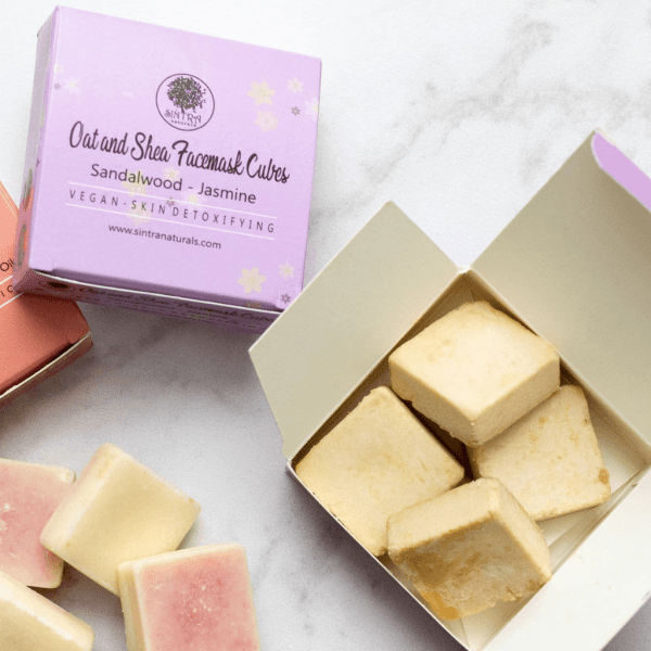 Oat and Shea Face Mask Cubes - Stocking Fillers