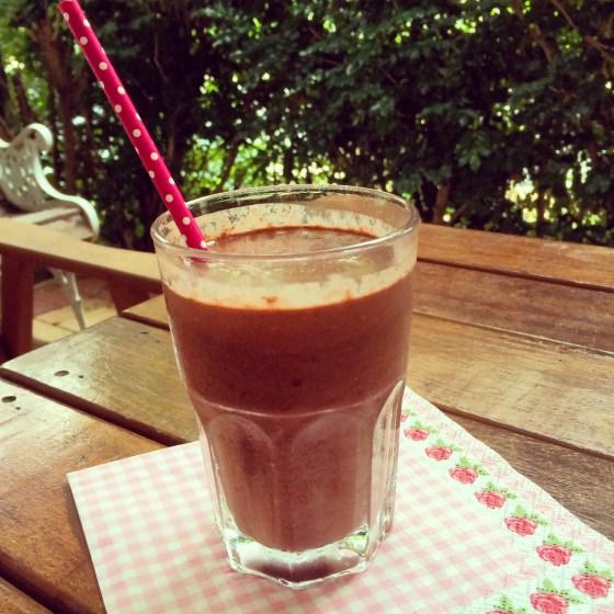Saturday breakfast (healthy chocolate!)