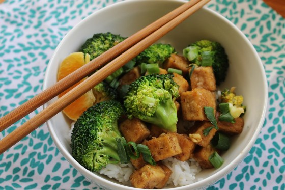 Honey, Orange, and Ginger Broccoli and Tofu Stir-Fry | Vegetarian | Gluten Free | Thoroughly Nourished Life