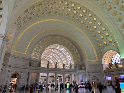 Innenbereich Union Station Washington