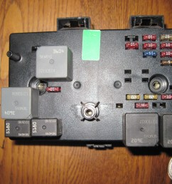 saturn fuse box repair 1998 1999 tom bryant wiscasset maine 1999 pontiac grand am fuse box 1999 saturn sl fuse box [ 4000 x 3000 Pixel ]